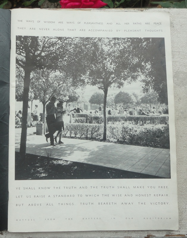 "Vtg 1947 Fairfax High School Yearbook ""Colonial"" Los Angeles California L A CA"